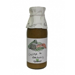 "Crema de Verduras "" CAMPOREL"" 3X750 Ml"